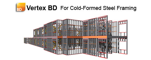 Vertex BD for Cold-Formed Steel Framing